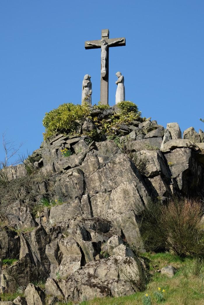 High Calvary, Mount Saint Bernard Abbey.