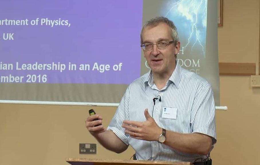 Prof Tom McLeish